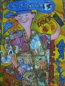 CALANTAR - эских обложки для молодежного дурнала Вестник для молодежи 1999 г.
